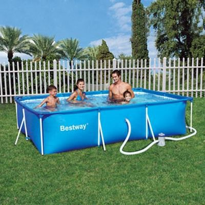 Piscine tubulaire enfant bestway splash frame achat for Piscine tubulaire bestway