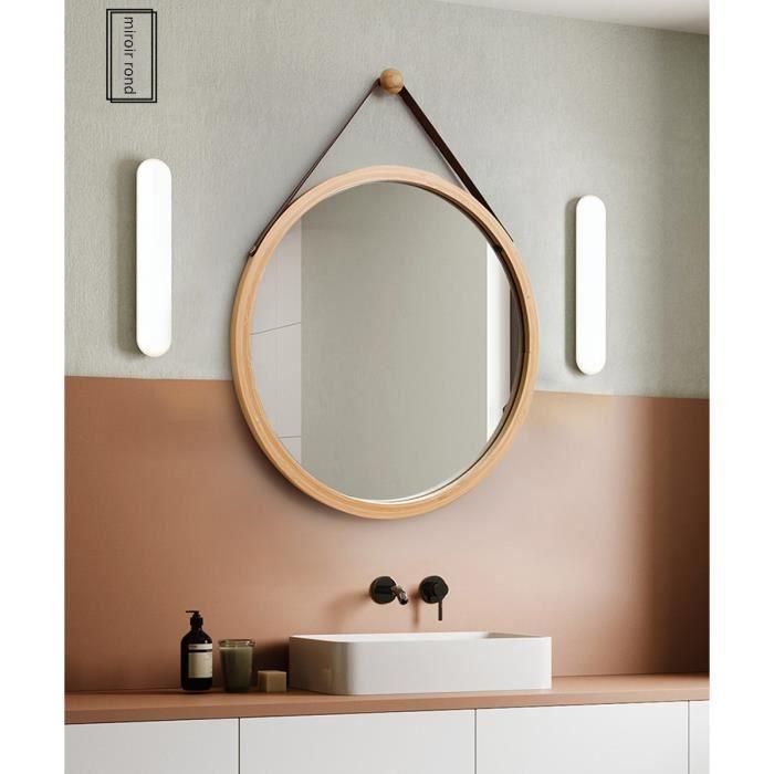 Miroir de Douche Anti-bu/ée Miroir de Douche Anti-bu/ée Miroir de Salle de Bain en Aluminium avec Crochets et sans Trous pour Une Utilisation Facile