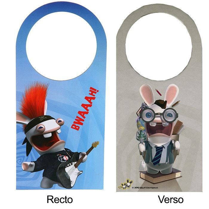 Accroche porte lapins cr tins guitariste achat for Decoration porte lapin