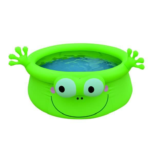 Piscine autoportante grenouille 175 x h62cm achat for Achat piscine autoportante