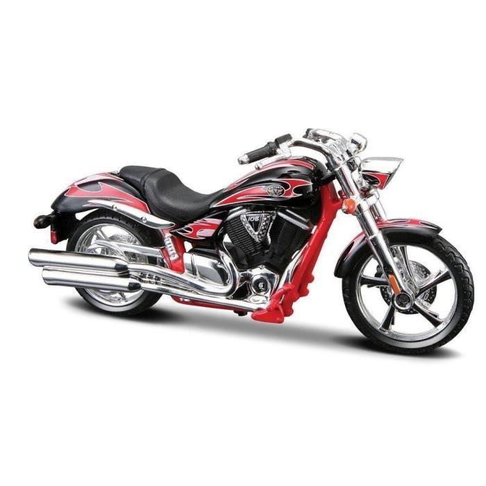 Maisto Modele Reduit De Moto Miniature Victory Vegas Jackpot 1 18 Achat Vente Voiture A Construire Cdiscount