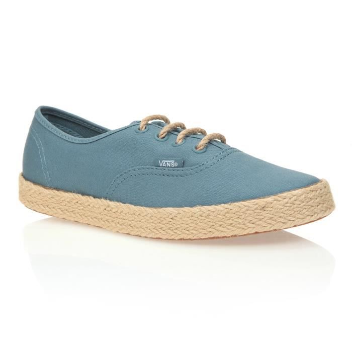 chaussure femme vans turquoise