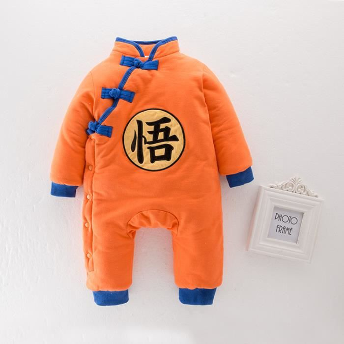 Ensemble de vêtements Vêtement Bébé Fille Garçon Dragon Ball Goku Naissa
