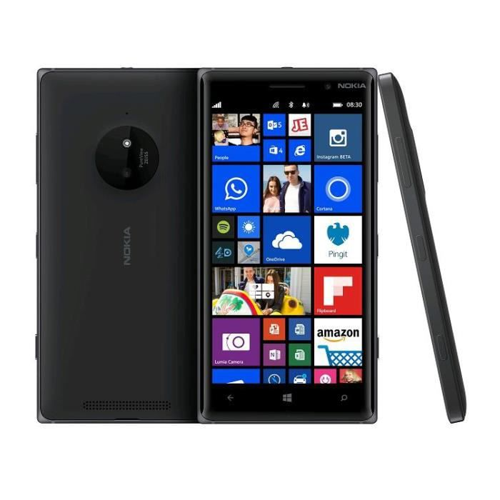 t l phone mobile nokia lumia 830 16go blanc tout op rateur achat t l phone portable pas cher. Black Bedroom Furniture Sets. Home Design Ideas