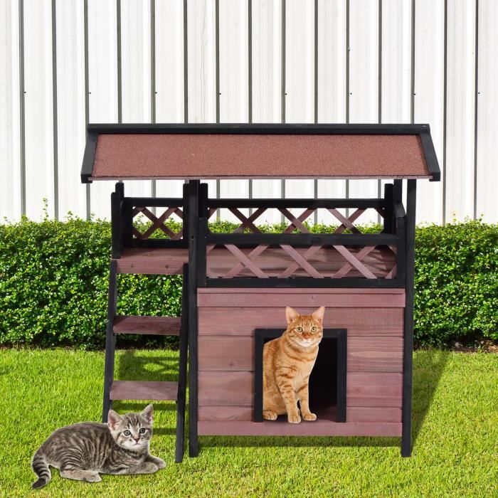 maison exterieur pour chat pas cher ventana blog. Black Bedroom Furniture Sets. Home Design Ideas