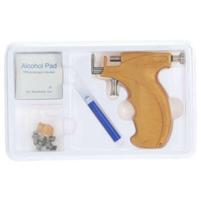 Pistolet piercing nombril en acier avec nez 98x  IV
