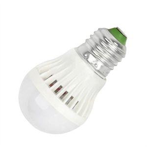 AMPOULE - LED E27 7 W 6500 K Auto Lumière Capteur Sonore LED Glo