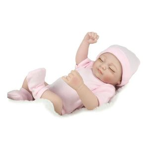POUPON Réaliste Bébé Poupée 26cm Nouveau-Né Poupée Enfant