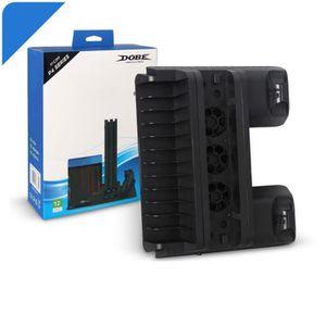 VENTILATEUR CONSOLE Pour Sony PlayStation 4 Ps4 Multifonctionnel Suppo