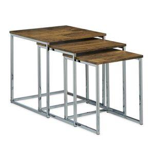 TABLE GIGOGNE Lot de 3 table basse gigogne bout de canapé design