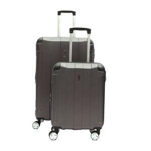 SET DE VALISES LYS - Set de 2 Valises cabine + moyenne Extensible