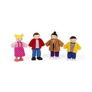MAISON POUPÉE JANOD Coffret de Personnages pour maison de poupée