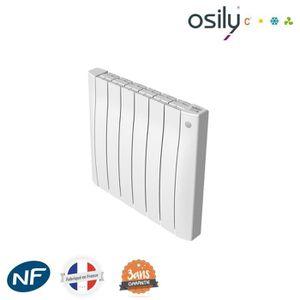 RADIATEUR ÉLECTRIQUE Radiateur OSILY à inertie sèche BEL - Blanc - 1500