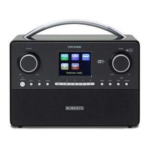 Radio réveil Roberts Radio réveil Connectés Noir