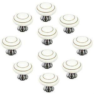 5PCS Marbre Céramique 38 mm Cabinet Knobs Armoire Placard Commode Boutons Poignée de traction