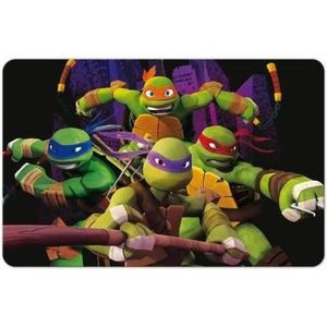SET DE TABLE SET DE TABLE TORTUES NINJA 3D
