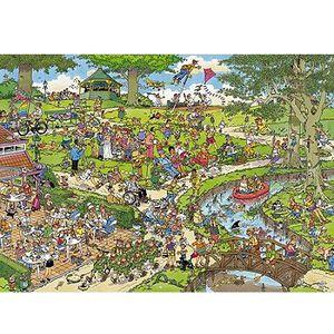 PUZZLE Puzzle 1000 pièces - Jan Van Haasteren : Le Parc