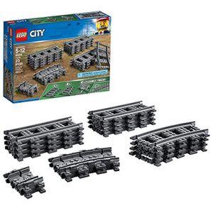 ASSEMBLAGE CONSTRUCTION Jeu D'Assemblage LEGO D310W Ville 60205 - Rails fl