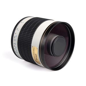 OBJECTIF Téléobjectif 500mm F 1:6.3 pour caméscopes Sony…