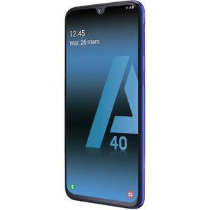 SMARTPHONE Samsung Galaxy A40 - 64Go, 4Go RAM - Bleu