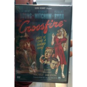 DVD FILM Crossfire [Import USA Zone 1] DVD ~ Robert Young