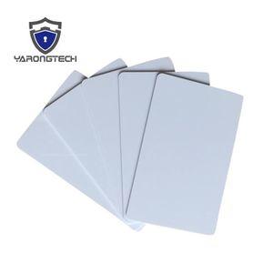 BADGE RFID - CARTE RFID MIFARE DESFire EV1 2K Blank sublimation Imprimable