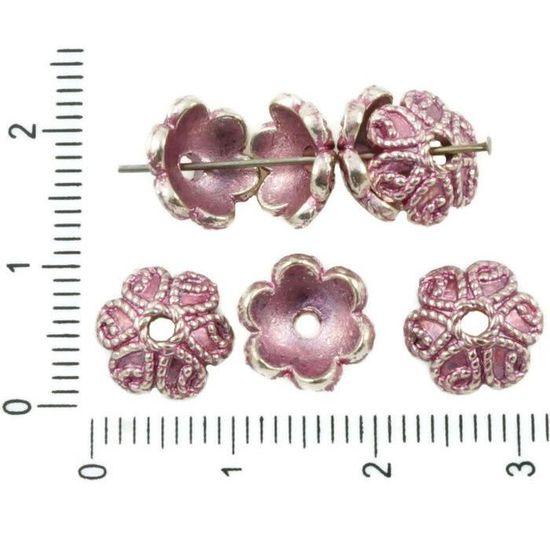 Perles de Bohème noir 12 mm 20pcs