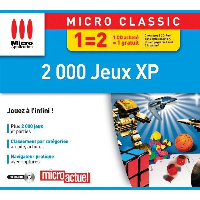 2000 JEUX XP / JEU PC CD-ROM