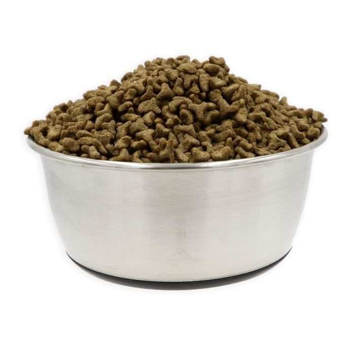 TYROL Bol en inox antidérapant de 21 cm - 1,5 L - Pour chien et chat