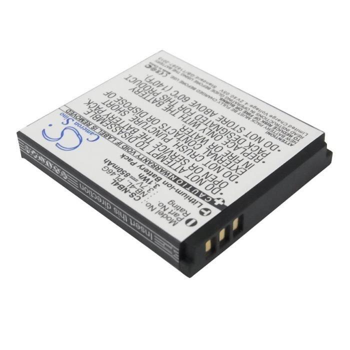 Batterie pour Appareil photo Canon Ixy digital 80 type nb-4l - 3.7v 850mah haute autonomie