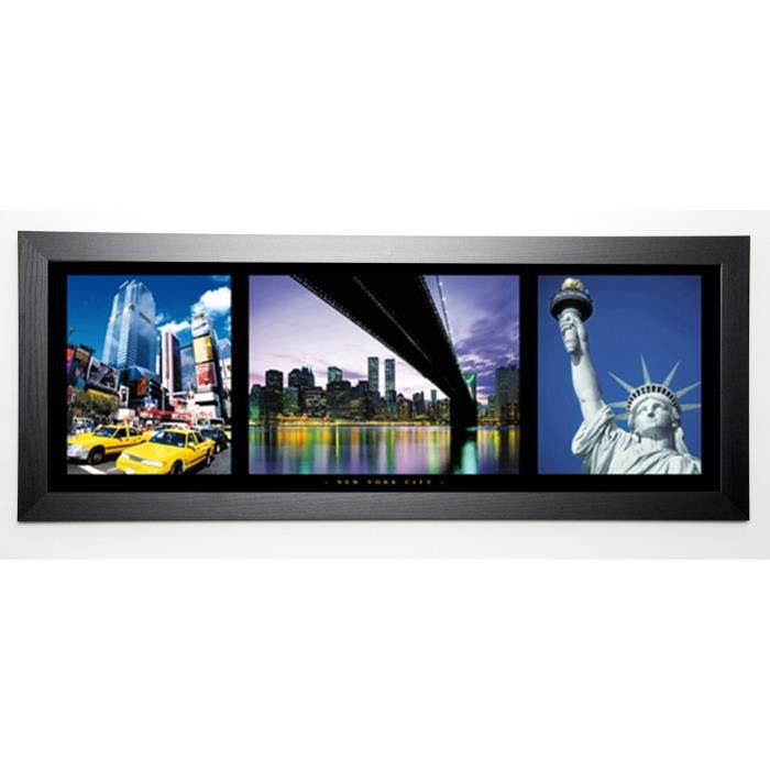 PHOTOGRAPHY COLLECTION Image encadrée New York City 40x102 cm Multicolore