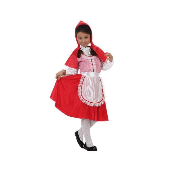 ATOSA Déguisement De Petit Chaperon Rouge - Panoplie Enfant - Carnaval