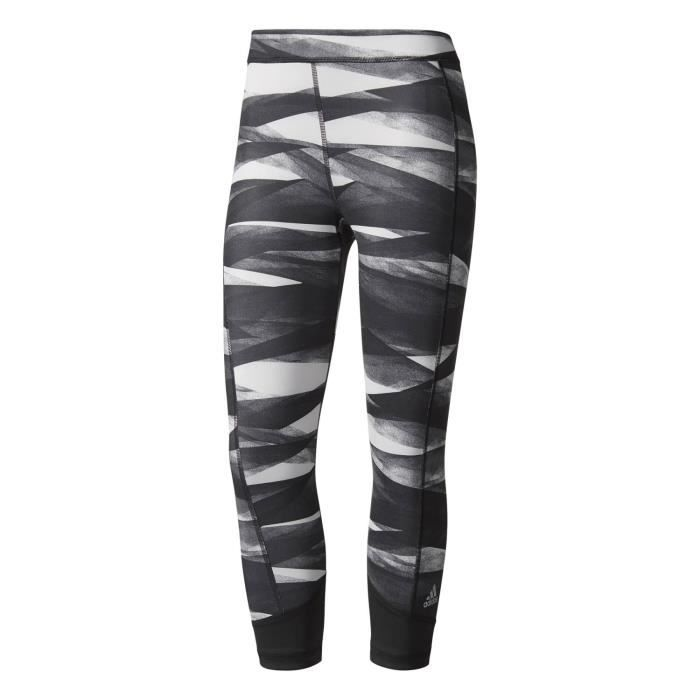 Adidas Performance Collants 3/4 Techfit Tig Noir Collants - Leggings Femme Multisports