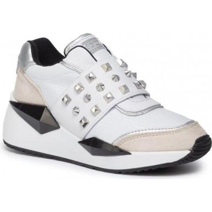 Guess Baskets Femme FL8TILELE12 Tinsel Blanc - Taille - 37 EU