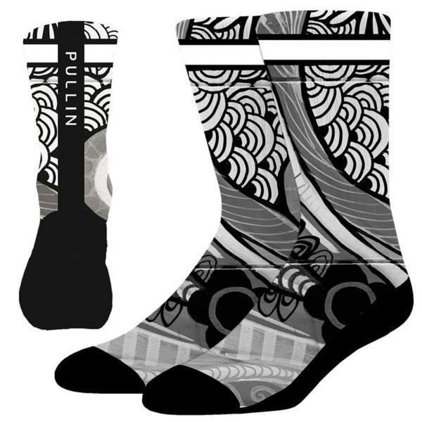 PULL IN Chaussettes Homme Microcoton CHARLIE Noir Gris
