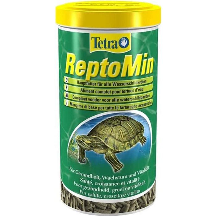 Tetra - Aliment Complet ReptoMin en Sticks pour Tortues d'Eau - 250ml