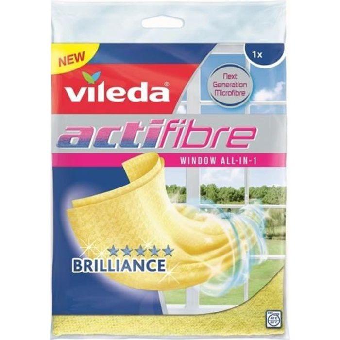 Chiffon microfibre Vileda Actifibre spécial pour glace