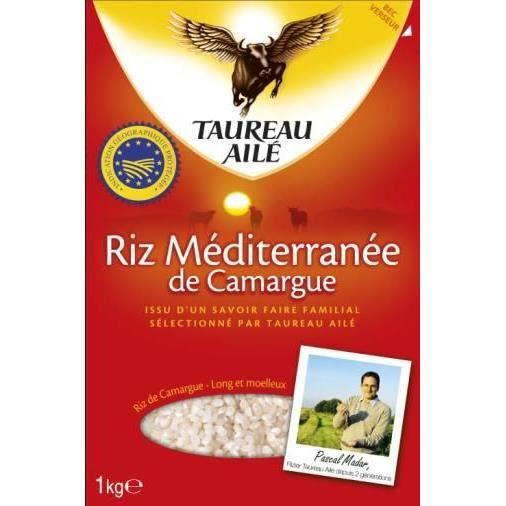 TAUREAU AILE - Riz Méditerranée de Camargue 1KG