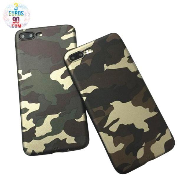 coque iphone 6 camouflage militaire marron beige