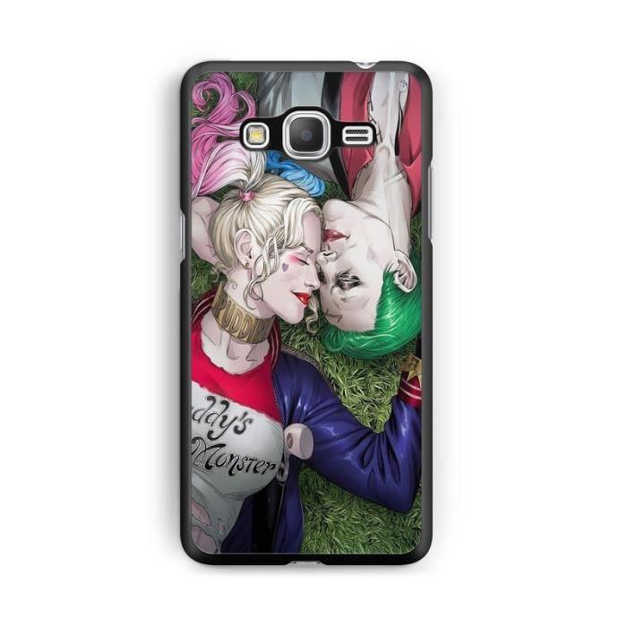 Coque Samsung Galaxy J3 2016 Batman Harley quinn Joker Marvel ...