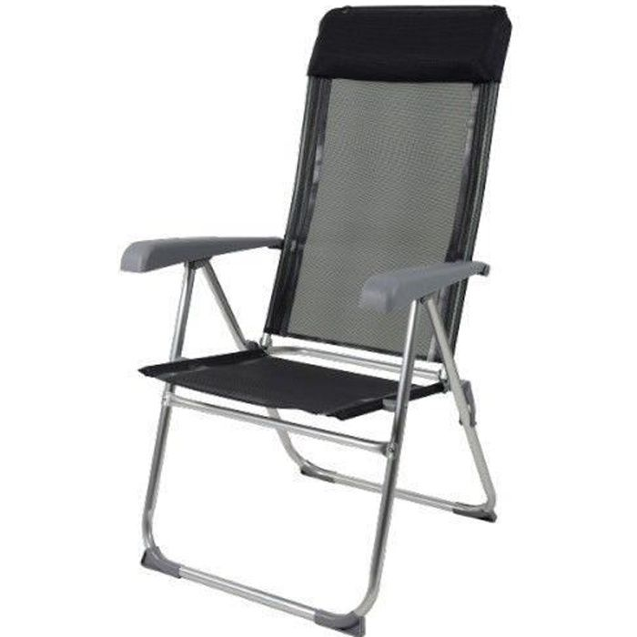 fauteuil pliant alu achat vente fauteuil pliant alu. Black Bedroom Furniture Sets. Home Design Ideas