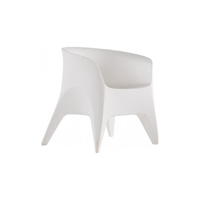 fauteuil design polypropyl ne blanc achat vente. Black Bedroom Furniture Sets. Home Design Ideas