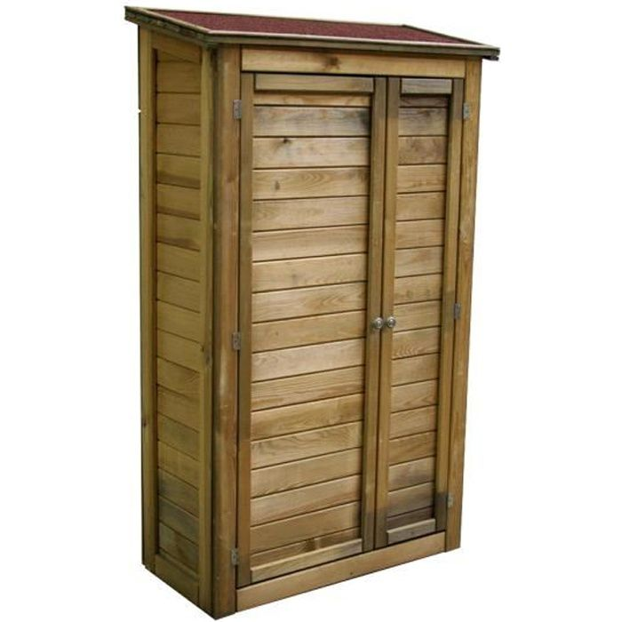 armoire en bois exterieur achat vente pas cher. Black Bedroom Furniture Sets. Home Design Ideas