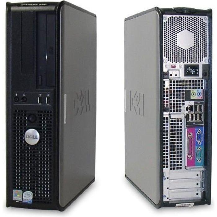 UNITÉ CENTRALE  PC bureau Dell Optiplex 330 / Intel Core 2 Duo 2.5