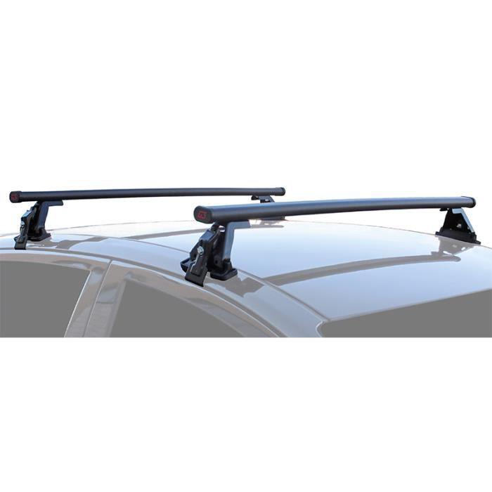 De 2001 Jusqu/à 2009 4 Portes Barres de toit Acier FIAT DOBLO