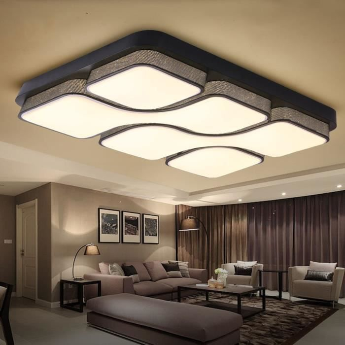 plafonnier led salon design lustre et suspension. Black Bedroom Furniture Sets. Home Design Ideas