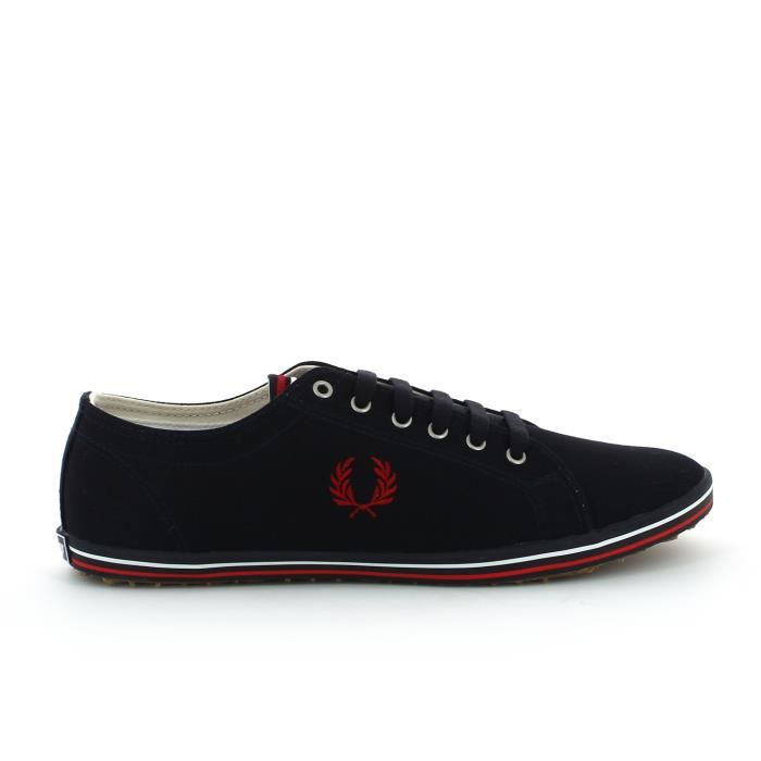 Fred Perry Baskets basses Kingston Bleu marine AUZnY