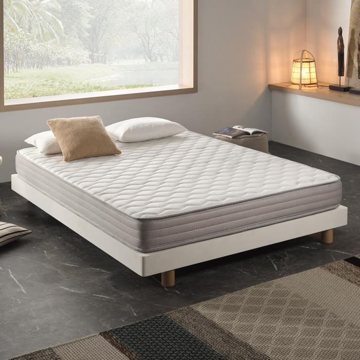 matelas aero latex 140x190 cm blue latex coutil intense. Black Bedroom Furniture Sets. Home Design Ideas
