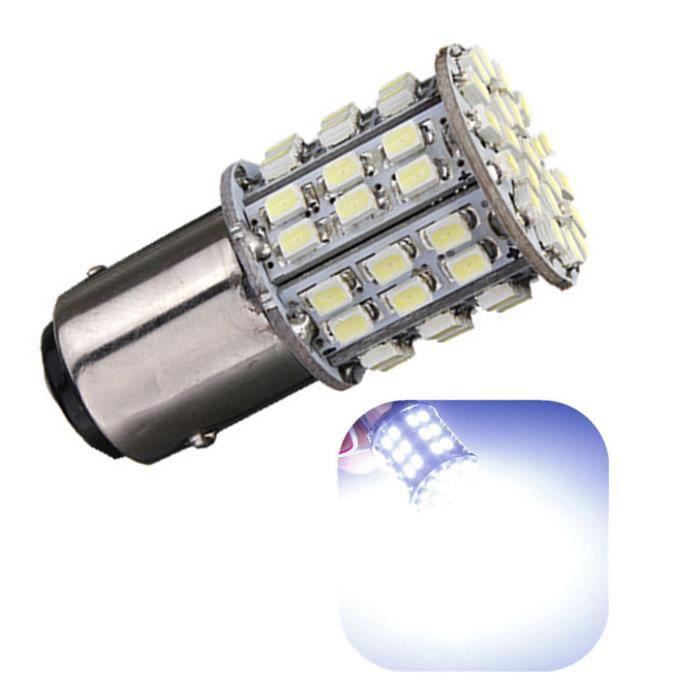 sourcing map 2 Pcs T10 194 168 W5W 68 LED 1206 SMD Int/érieur de Voiture Lumi/ère Ampoule Ampoule Blanc Interne