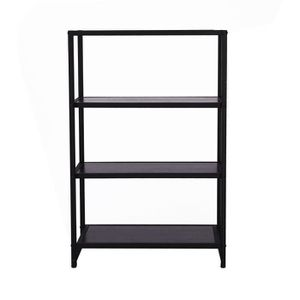 bibliotheque bois metal achat vente bibliotheque bois. Black Bedroom Furniture Sets. Home Design Ideas